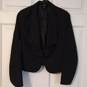 Mossino black tuxedo blazer